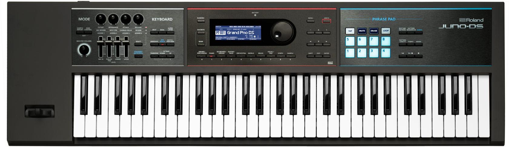 Синтезатор Roland JUNO-DS61: фото